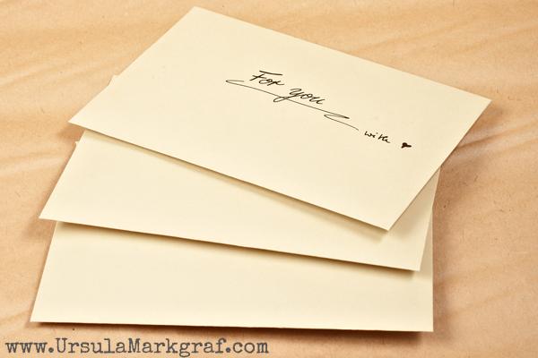 Letters/ Briefe - Ursula Markgraf