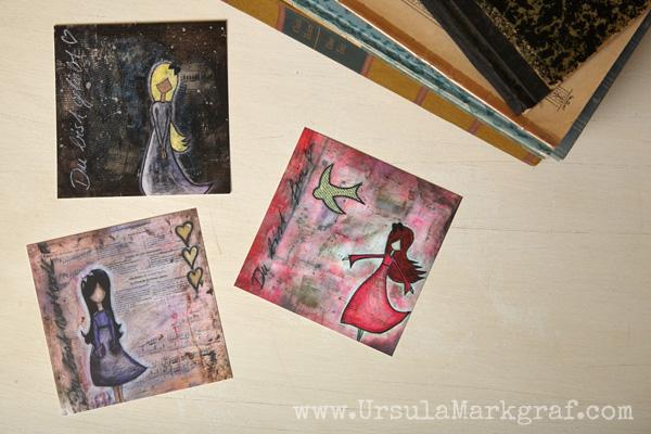 """""""Du bist ..."""" Postkarten-Kollektion von Ursula Markgraf"""