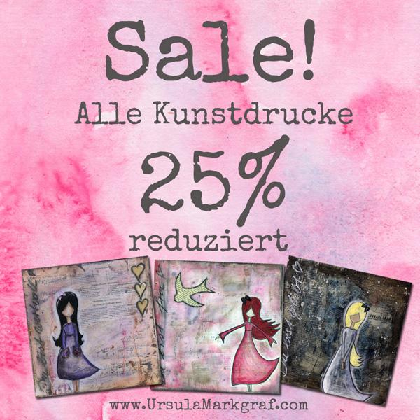 Ausverkauf - Kunstdrucke - Ursula Markgraf - mixed media Kunst
