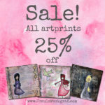 Sale – all art prints 25% off