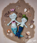 Summer sewing – Mermaids by Revoluzzza
