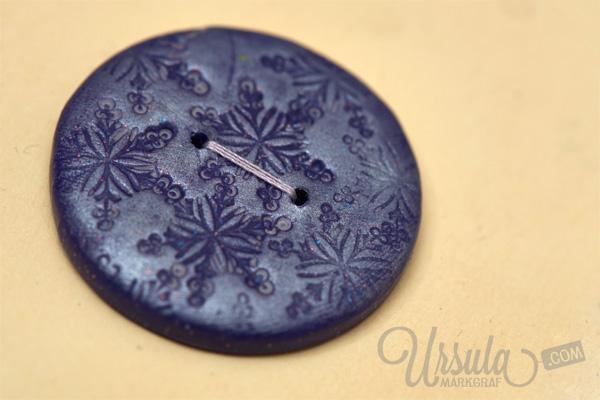 Handmade buttons by Ursula Markgraf/ Handgemachte Knöpfe von Ursula Markgraf