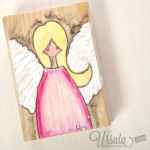 An Advent Angel just for you (free download)