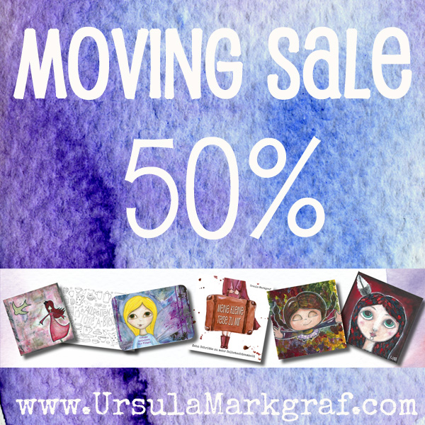 Moving Sale Ursula Markgraf Mixed Media Art