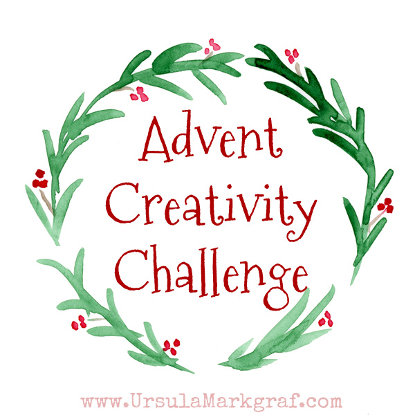Advent Creativity Challenge &#8211; Me-Time <3